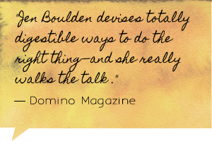 Domino Magazine on Jen Boulden