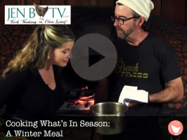 Cooking What's in Season — A Winter Meal