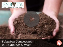 Suburban Composting in 10 Minutes a Week