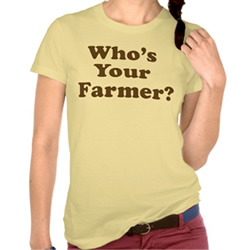 Who's Your Farmer T-Shirt