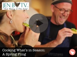 Cooking What's In Season: A Spring Fling