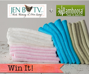 Win a Package of Bamboo Towelettes