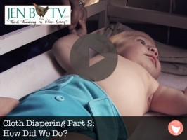 Cloth Diapering, A How To and Part 2