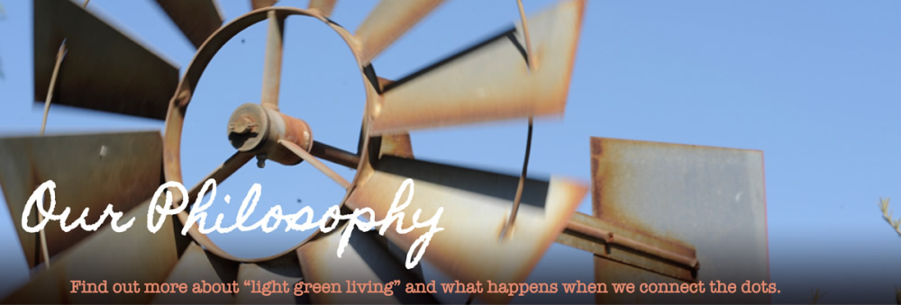 About JenBTV and our Light Green Living philosophy!