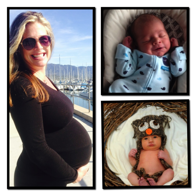 Jen Boulden and Baby Sky