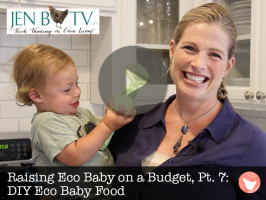 Raising Eco Baby on a Budget, Part 7: DIY Eco Baby Food