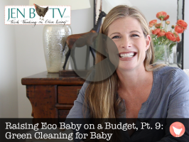 Raising Eco Baby on a Budget, Part 9: Green Cleaning for Baby
